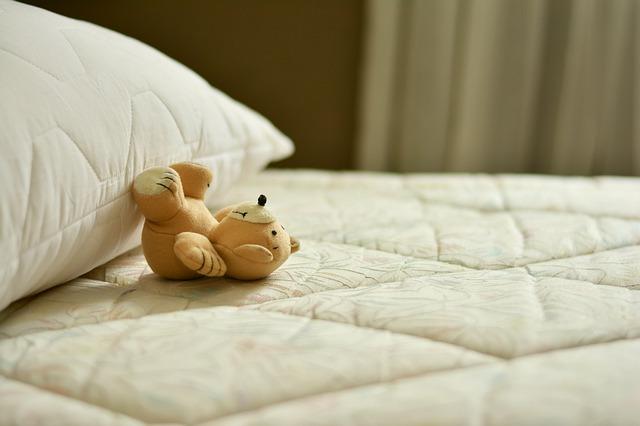 polštář na matraci