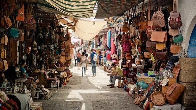 ulička tržnice