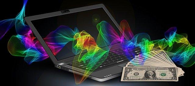 notebook, výdělek